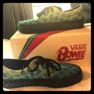 VANS - Old Skool - David Bowie -size 6/4.5